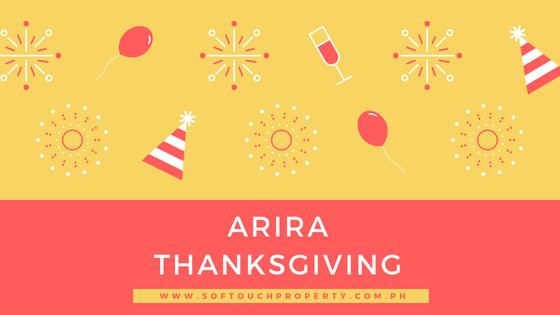 Arira Project Thanksgiving