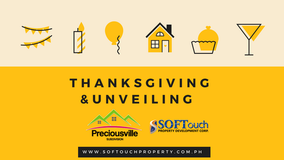 Thanksgiving and unveiling of PRECIOUSVILLE!
